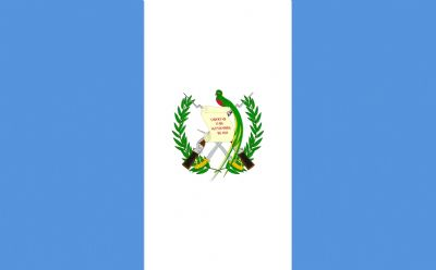 GUATEMALA - HAND WAVING FLAG (MEDIUM)